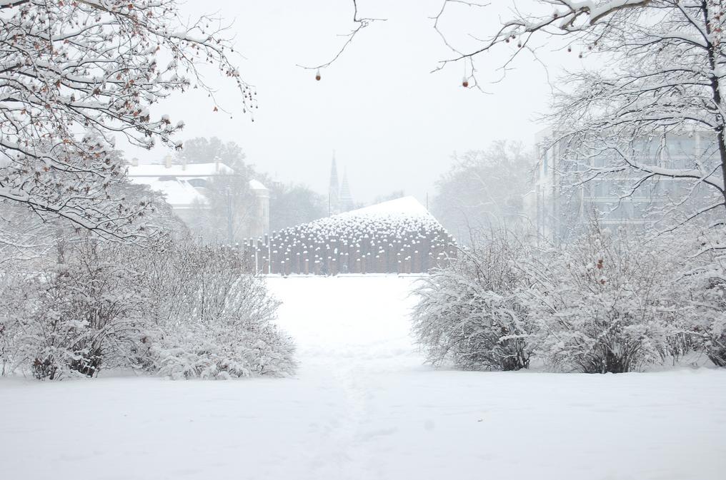 City Park Winter Budapest