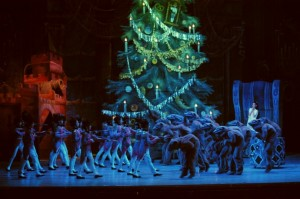 Nutcracker in Hungarian Opera House at Budapest Christmas