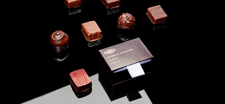 Artisan Chocolate from Budapest Hungary Cafe Gerbeaud
