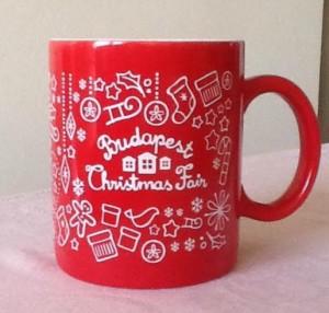 Budapest Christmas Mug