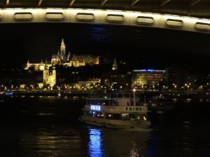 Budapest Cruise at Night at Christmas