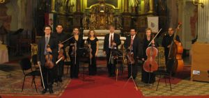 Concert at St Anne's Church in Budapest