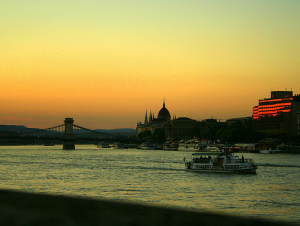 River Danube Cruise Budapest in Winter