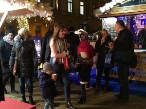 Christmas Fair at Vorosmarty Square Budapest