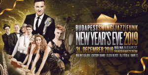 NYE Swing Party in Budapest Whale