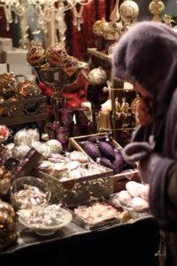 Vienna Christmas Market Stalls